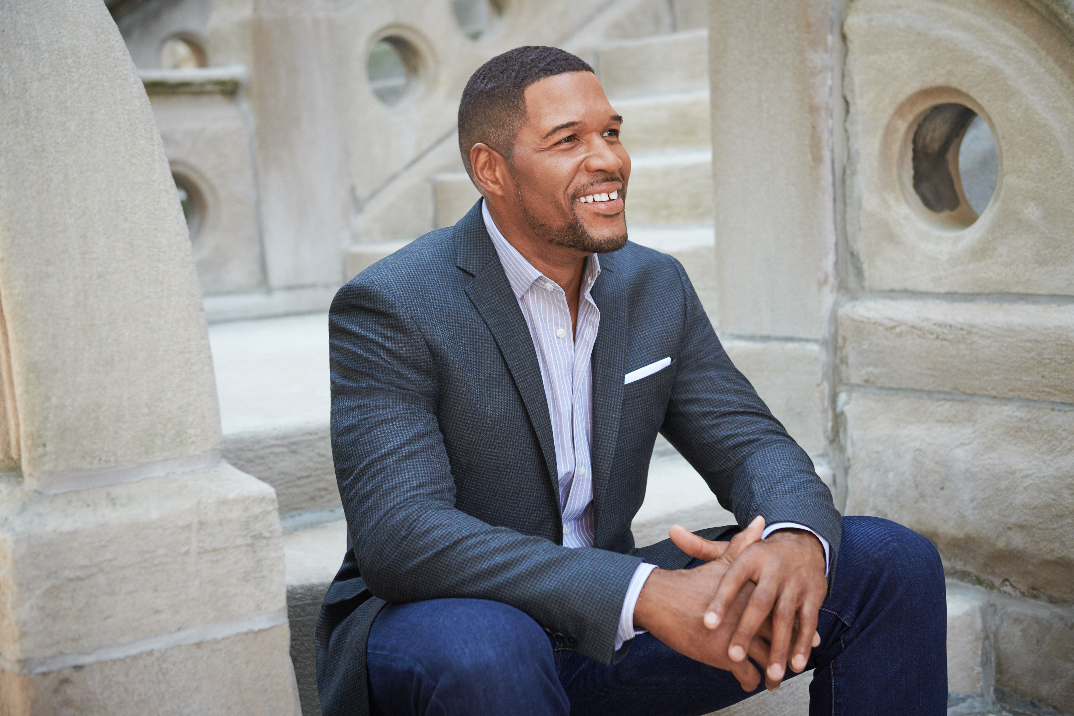 Style Session Michael Strahan Denim Collection Looks Michael Strahan